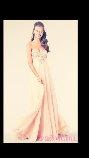 dress prom dress pink dress beautiful