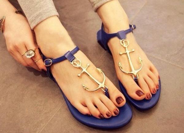 shoes anchor sandals