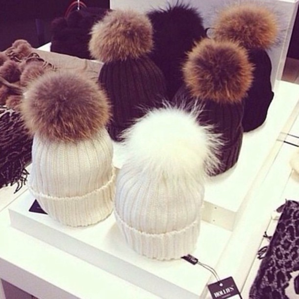 hat fluffy fluffy hat winter hat