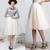 ANTHROPOLOGIE Karinska Tulle Skirt ivory cream 6 Waist 29 | eBay