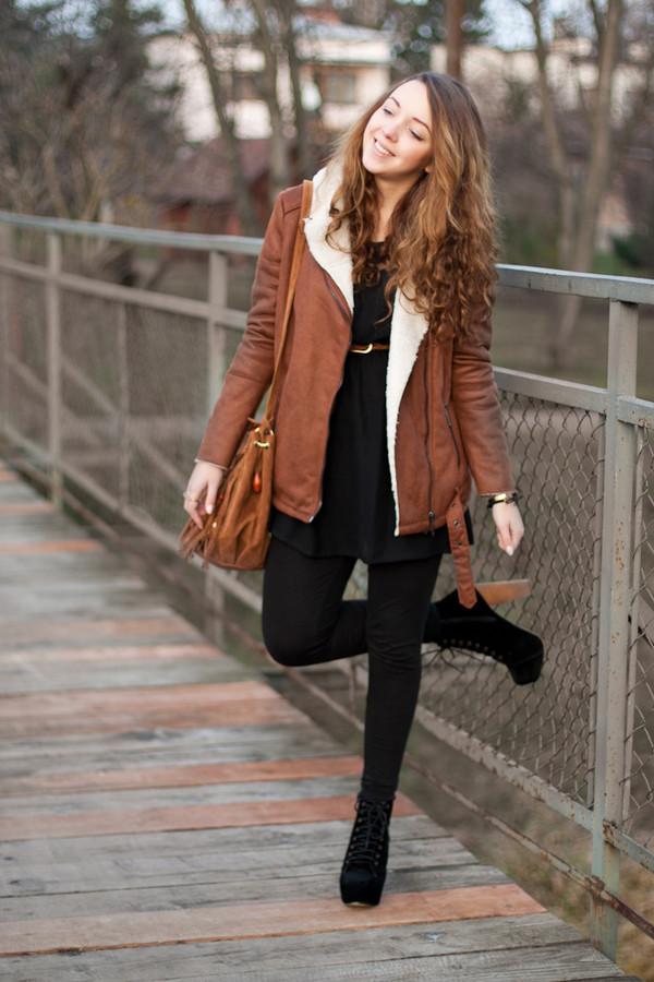kolorowa dusza jacket dress pants bag jewels shoes