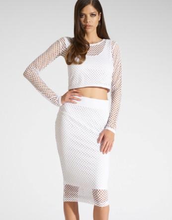 Kardashian String Midi Skirt - Lipsy