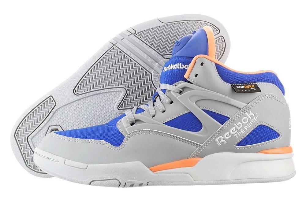 Reebok Pump Omni Lite Cordura V60086 Hexlite Pump Technology Basketball Shoe Men   eBay