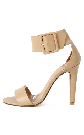 Delicious Vodka-s Ankle Cuff Heels   MakeMeChic.com