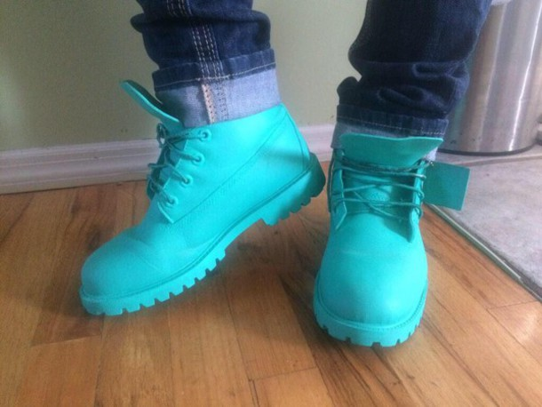 shoes boots mens shoes turquoise