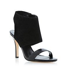steve madden ladies black rhinestone embellished platform sandal, dune shoes online