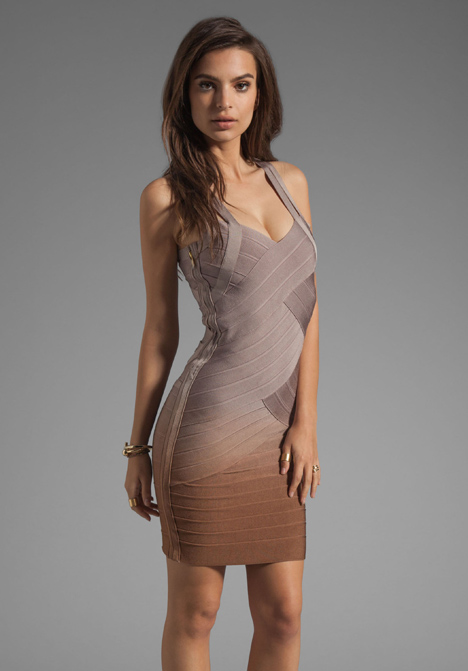 STRETTA Christiana Dress in Etherea Ombre - Dresses