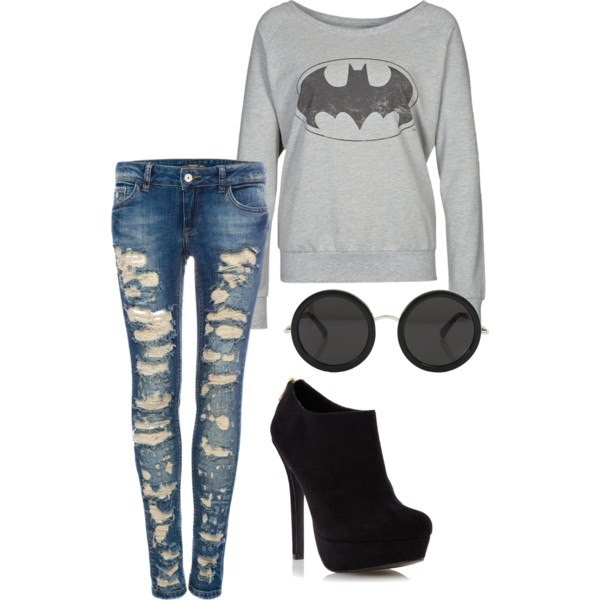 sweater jeans