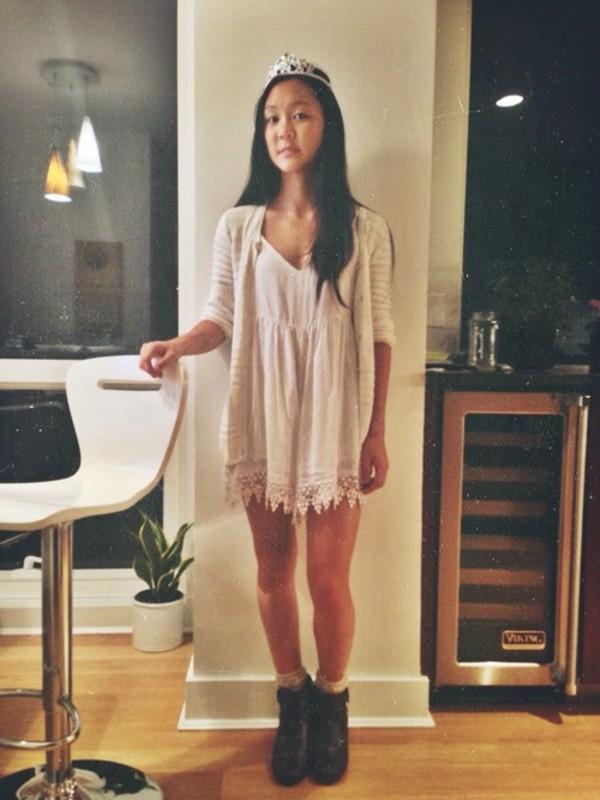dress white lace tumblr girl tumblr boho dress california
