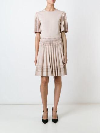 dress pink dress short dress