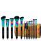 12 piece siren brush set & roll