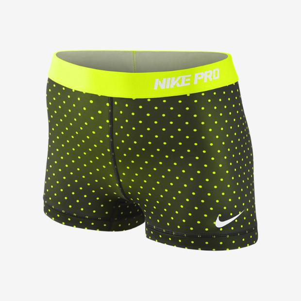 "Nike Store. Nike 2.5"" Pro Hypercool Compression Printed Women's Shorts"