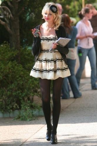 taylor momsen dress black and white gossip girl perfect short dress jenny humphrey cute dress pretty