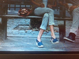 shoes offset heel sneakers audrey tautou espadrilles casse-tête chinois