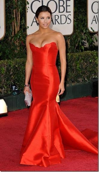 dress red dress mermaid fishtail prom dress prom homecoming satin silk tight red ruby dresses eva longoria long prom dress