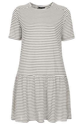 Stripe Drop Waist Tunic - Dresses  - Clothing  - Topshop