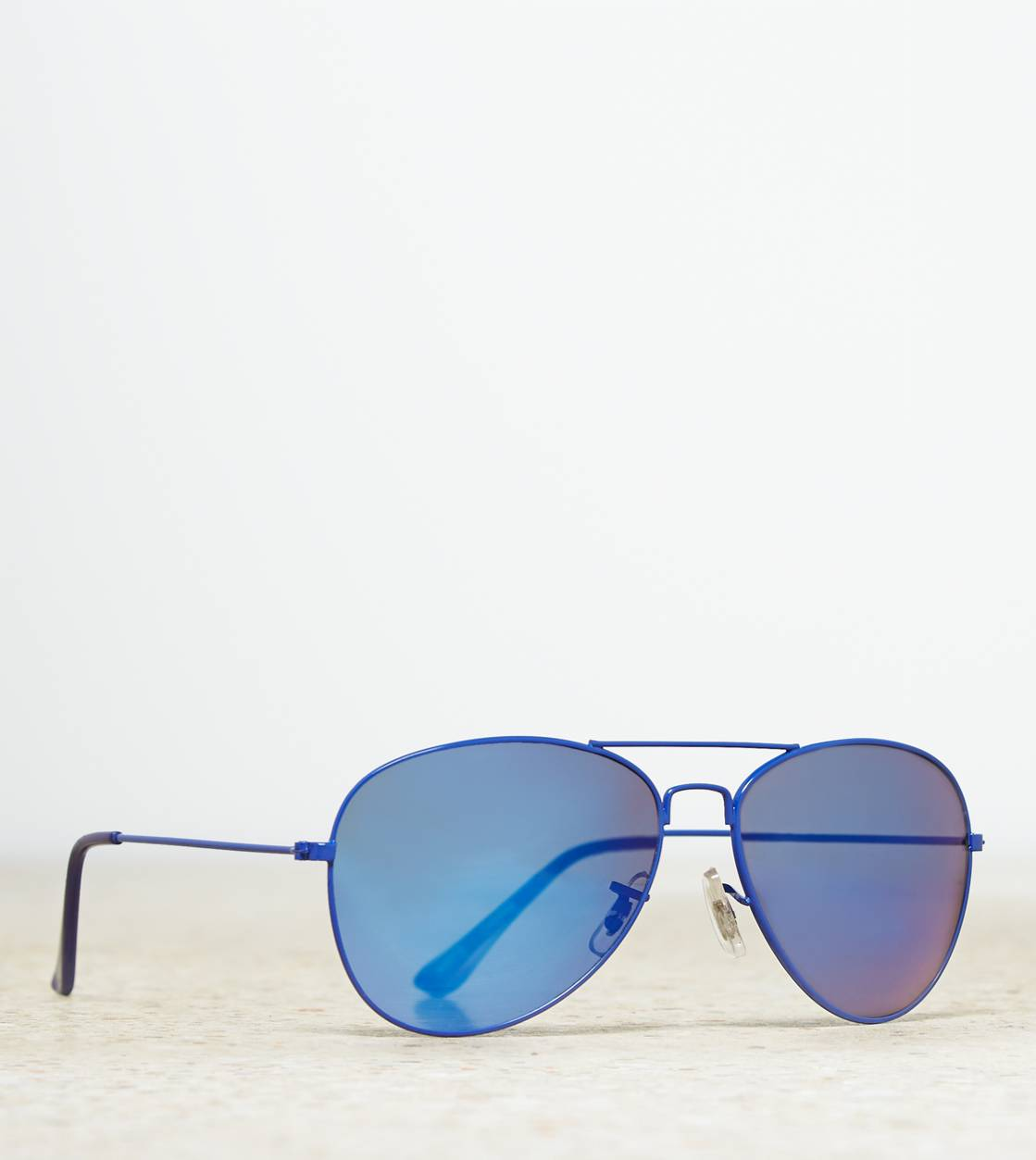 AEO Aviator Sunglasses, Blue | American Eagle Outfitters