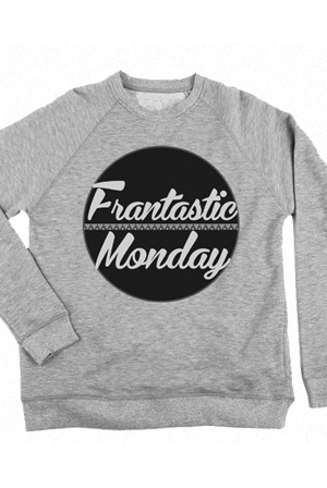 Frantastic Monday Crewneck Sweater Hoodie - ConnorFranta Hoodies - Official  Online Store on District Lines