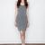 T by Alexander Wang Women's - Heather Grey Modal Spandex Cami Tank Dress