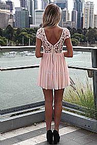 SPLENDED ANGEL DRESS , DRESSES, TOPS, BOTTOMS, JACKETS & JUMPERS, ACCESSORIES, SALE, PRE ORDER, NEW ARRIVALS, PLAYSUIT, COLOUR,,Pink,LACE Australia, Queensland, Brisbane
