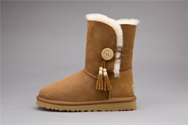 UGG Australia Womens Chestnut Bailey Button Charms Boots AAA-1002153 (US$ 145.95 / US$ 139.65) & Customer Reviews and Ratings
