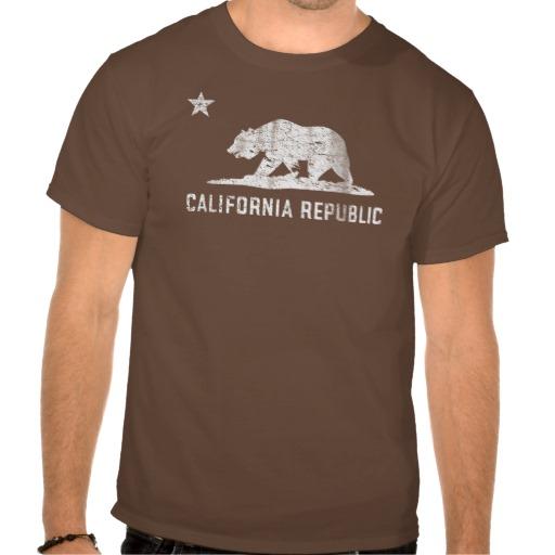 Vintage California Republic T Shirts from Zazzle.com