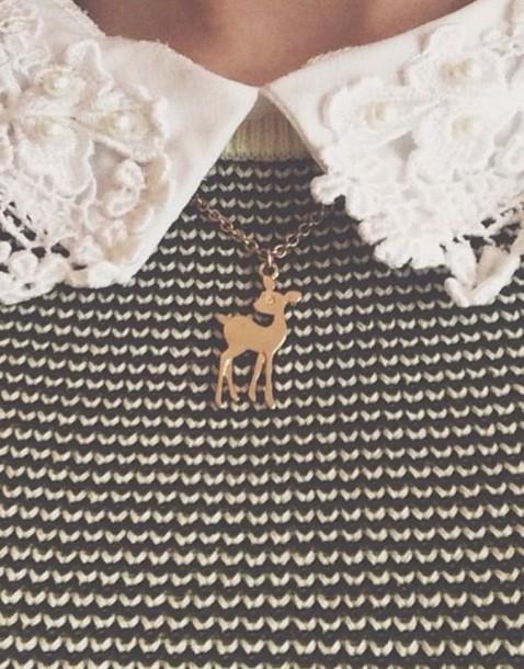 jewels gold necklace disney