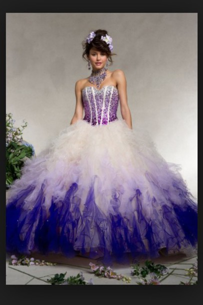 dress purple dress purple prom dresses white dress white prom dress quinceanera dress