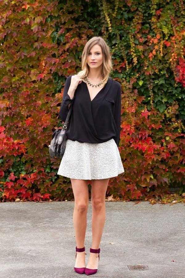 styling my life t-shirt skirt bag shoes