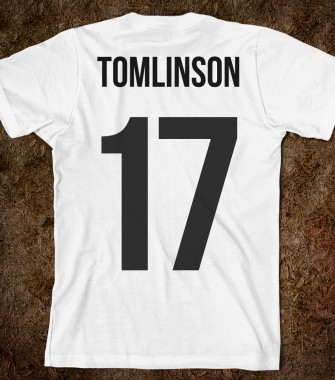 Tomlinson 17 - One Direction Apparel - Skreened T-shirts, Organic Shirts, Hoodies, Kids Tees, Baby One-Pieces and Tote Bags Custom T-Shirts, Organic Shirts, Hoodies, Novelty Gifts, Kids Apparel, Baby One-Pieces | Skreened - Ethical Custom Apparel