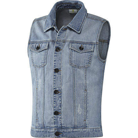 adidas Sleeveless Denim Vest | adidas UK