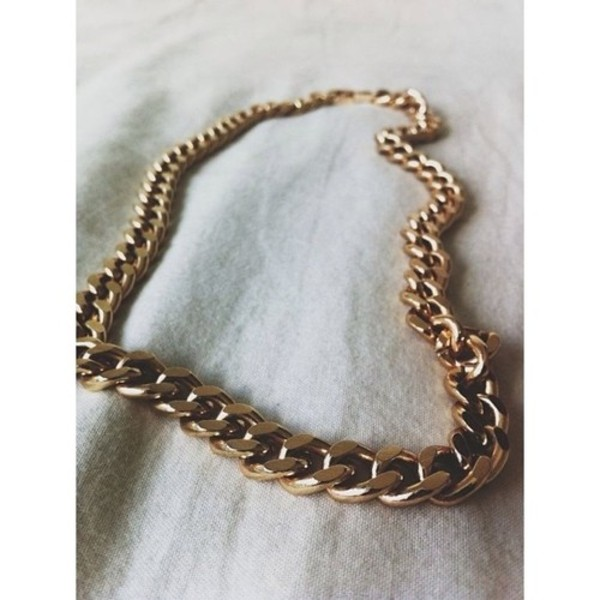 jewels gold gold chain chunky necklace bag jeans