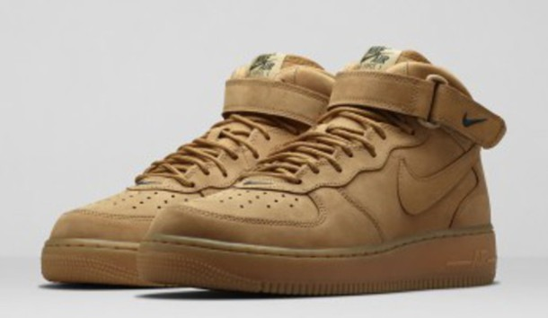 shoes nike air force 1 flax flax wheat nike shoes nike air force 1 nike air force 1 nike nike air force nike air force 1