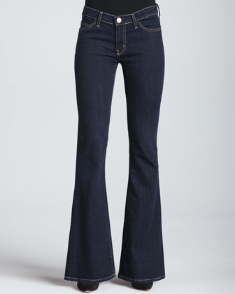Current/Elliott   The Low Bell-Bottom Jeans - CUSP