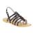 Sandales Les Tropéziennes par M Belarbi HERISSON NOIR - Livraison Gratuite avec Spartoo.com ! - Chaussures Femme 44,99 €