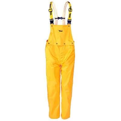 Viking Pants: Journeyman Yellow Waterproof Bib Overalls 3300P