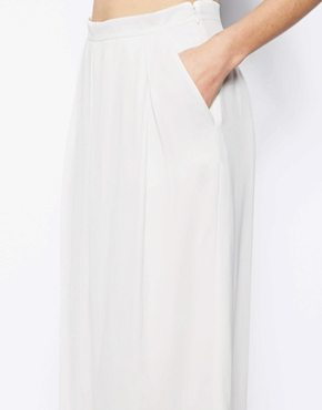 Warehouse | Warehouse Soft Pleat Culotte at ASOS