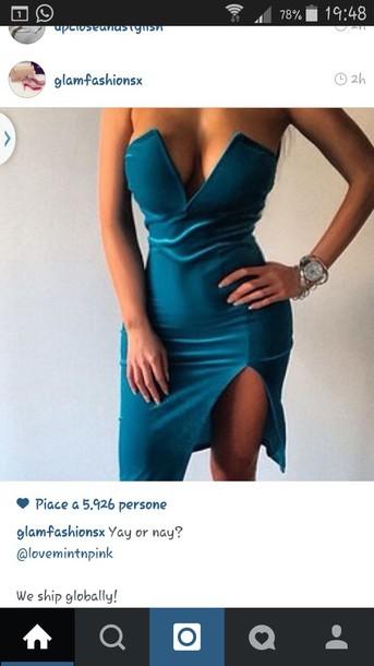 dress blue dress style