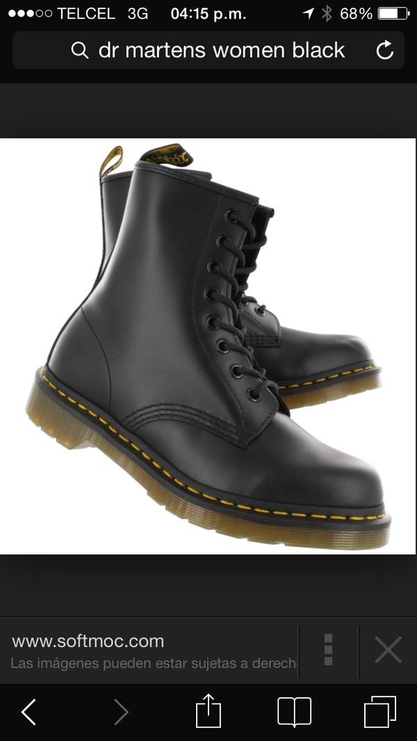 shoes black dr martens