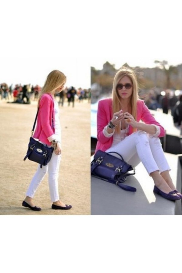 jacket blazer pink blazer ootd look of the day look for less fashion style stylish fashionista shopaholic