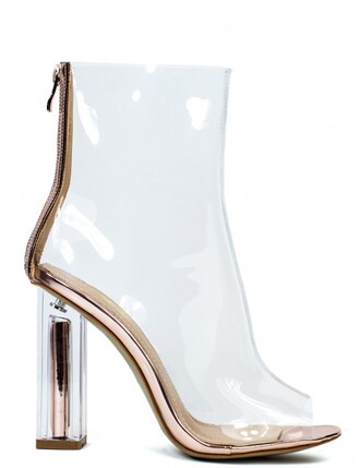 shoes clear boots clear high heels high heels boots celebrity style