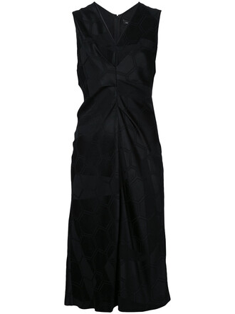 dress midi dress women midi black