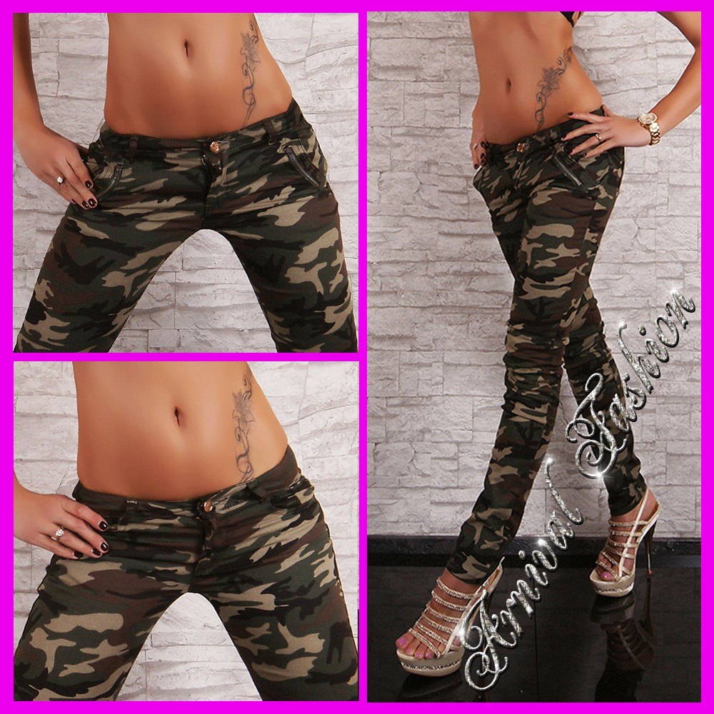 NEW SEXY CAMO PANTS FOR WOMEN MILITARY WEAR LADIES CAMO JEANS ARMY JEAN HOTPANTS | eBay