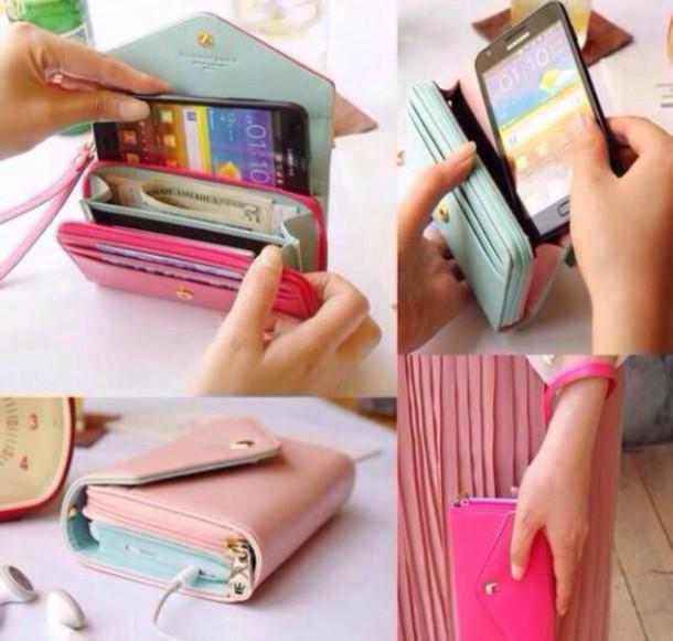 bag phone wallet
