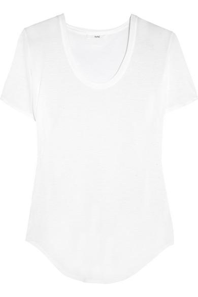Helmut Lang|Kinetic modal-blend jersey T-shirt|NET-A-PORTER.COM