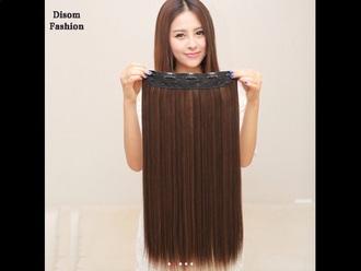 hair accessory hair long hair clip in hair extensions