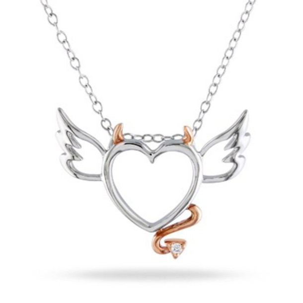 jewels silver gold diamond crystal heart tail  horns