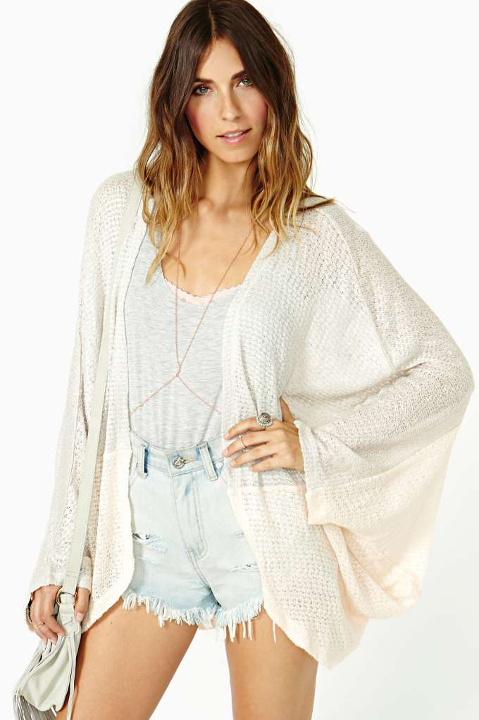Sugar Cane Cardi in  Clothes Sweaters at Nasty Gal