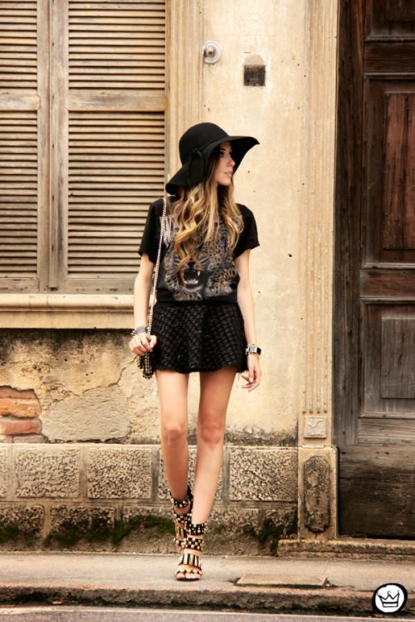 fashion coolture t-shirt skirt bag shoes