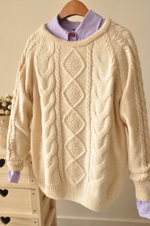 2013 Autumn And Winter Clothes New Korean Long Pullover Women Jacket Sweater Geometric Pattern Bottoming Sweatshirts Hot selling-in Hoodies & Sweatshirts from Apparel & Accessories on Aliexpress.com